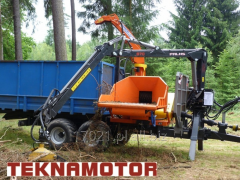 Chipper drum trailer forest - Skorpion 350 RBP