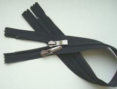 Shoe zip fasteners