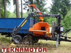 Mobile chippers - drum Skorpion 350 RBP