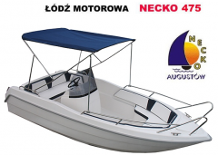 Necko 475, excellent motor boat for fishing and