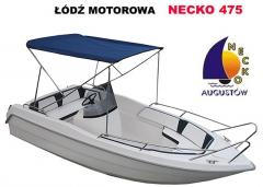 Necko 475, łódź motorowa wielofunkcyjna z kadłubem z włókna szkalnego