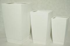 Articles made of glazed ceramics