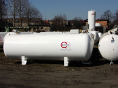 Storage tanks for gas