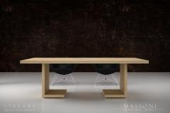 Designerskie stoły konferencyjne LINEART Massoni