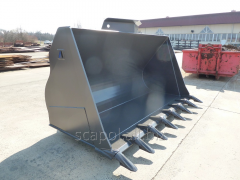 Buckets for wheel loaders