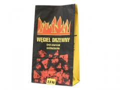 Węgiel drzewny 2,5kg hurt, wysoka jakość.