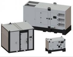 Agregaty FOGO z silnikiem Diesel 15-1000 kva