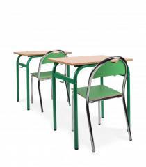 Krzesło Bolek i stół Bartek