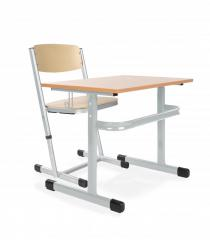 Stół szkolny Adam i krzesło szkolne Ala