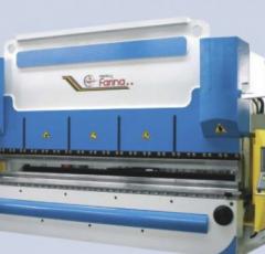 Sheet bending presses
