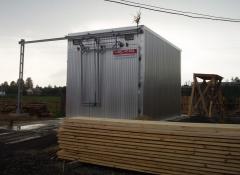 Lumber-kiln cameras
