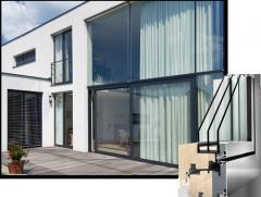 Energooszczędne drewniano-aluminiowe okna