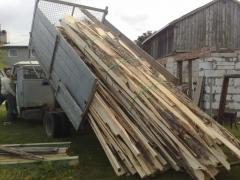 Drewno opałowe obrzyny z tartaku