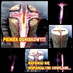 Pieńki Ogniskowe (przenośne ognisko)- Tylko u Nas!