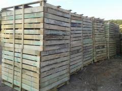 Skrzyniopalety drewniane .