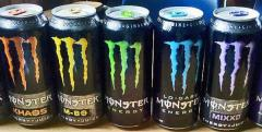 Napój monster 0,5 l cena 2,57 netto