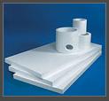 Ceramic fiber plates