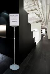 Ekskluzywny stojak informacyjny plakatowy CROMO A4, 150cm