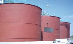 Zbiorniki niskociśnieniowe na materiały płynne