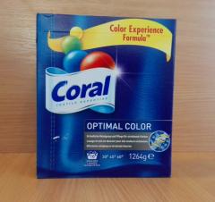Proszek do prania kolorowych tkanin Coral.