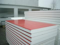 Wall sandwich-panels Prometplat SC in RAL colors