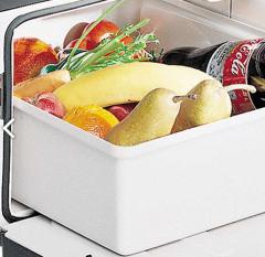 Lodówka szufladowa  wyposażona w specjalne zabezpieczenia do samochodów  z ruchomą kabiną