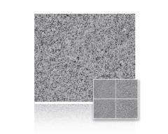 Granit G603 Crystal Grey Płomieniowany 40x40 gr. 3 cm