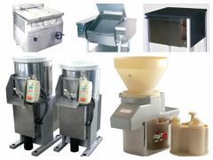 Sprzęt przemysłowy spożywczy- wyposażenie