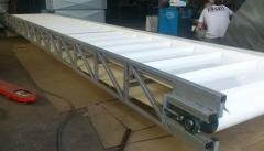 Worm conveyors