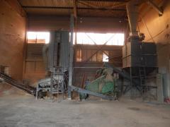 Kompletna linia do produkcji peletu pelet buhler 2t / h suszarka do trocin