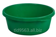 Plastic basin