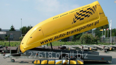 Auto transport trailers