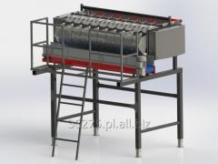 Equipment for processing vegetables