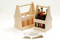 Boxes for glass bottles