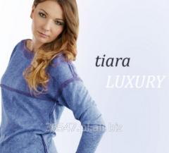 Tiara Luxury, modna tkanina, luksus, seweterkowyy splot, wersja soft, domieszka naturalnej wiskozy oraz elastanu