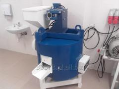 Equipment for the extraction of vegetable oils