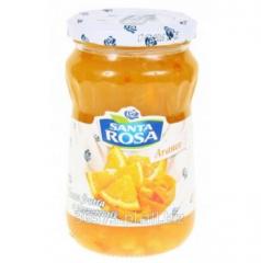 Dżem z pomarańczy z kawałkami owoców