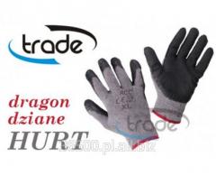 Rękawice rękawiczki robocze DRAGON RCC dziane