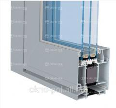 System drzwi aluminiowych o zwiększonej izilacyjności termicznej Aliplast STAR