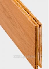 Deska trójwarstwowa, podłoga wykonana z naturalnego drewna, drewniane podłogi tłumią hałas i gwarantują bardzo dobrą izolację termiczną pomieszczenia