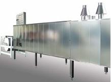 Piec tunelowy o wydajności 290 lub 380 kg/h i max.
