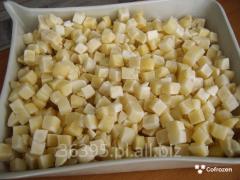 Ziemniaki mrożone kostka