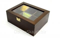 Opakowanie prezentowe do herbaty z drewna