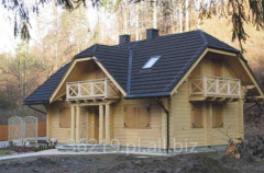 Houses made of wood