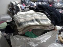 Ubrania używane, second hand na jesień / zimę.