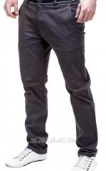 Spodnie męskie w stylu chino