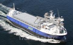 Statek towarowy Rubin