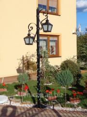 Lampa ogrodowa, latarnia, oświetlenie