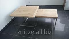 Stolik kawowy, ława, stoliki pomocnicze 2-częściowy