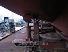 Ważenie kadłubu statku